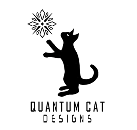 Quantum Cat Designs Logo